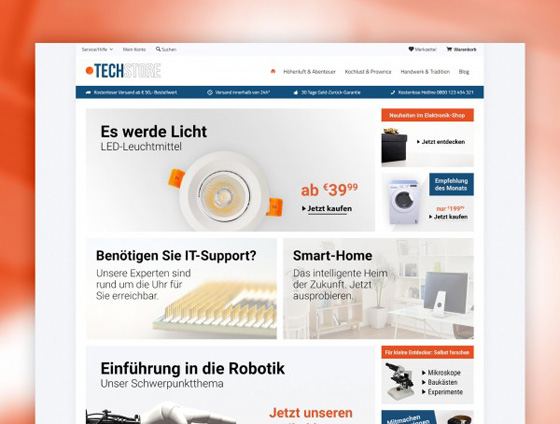 Shopware Theme - ThemeWare® Electric