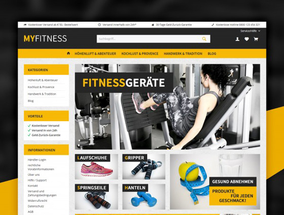 Shopware Theme - ThemeWare® Fit
