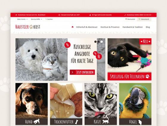 Shopware Theme - ThemeWare® Pets